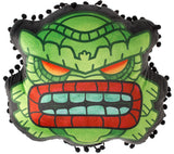 Fishman Creature Tiki Pillow