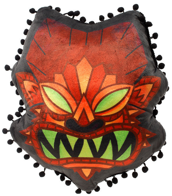 Wolfman Tiki Pillow
