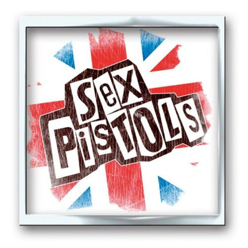 Sex Pistols Union Jack Enamel Pin - DeadRockers
