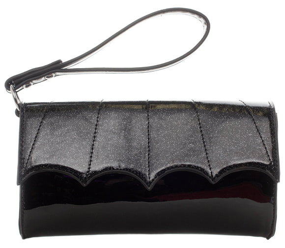 Bat Wing Clutch Purse