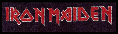 Iron Maiden Strip Woven Patch