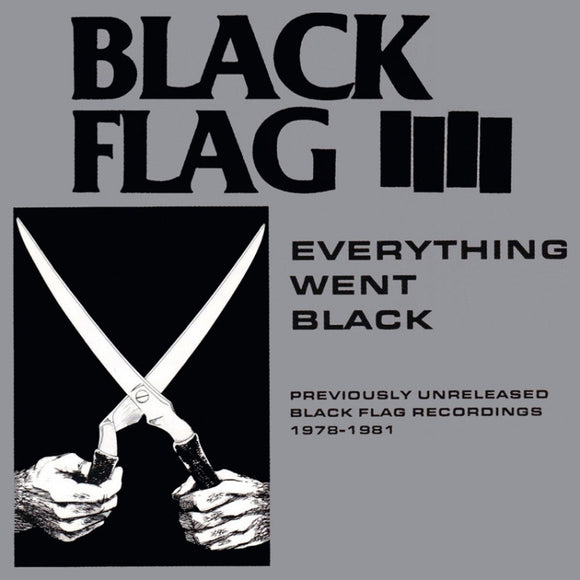 Black Flag Everything Went Black Double LP - DeadRockers