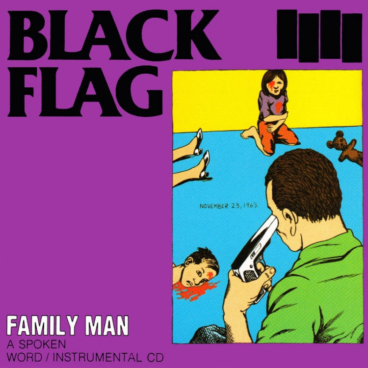 Black Flag Family Man LP - DeadRockers