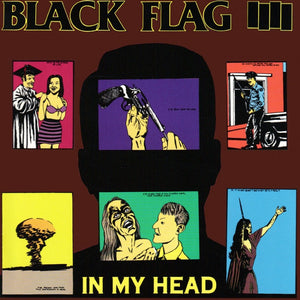 Black Flag In My Head LP - DeadRockers