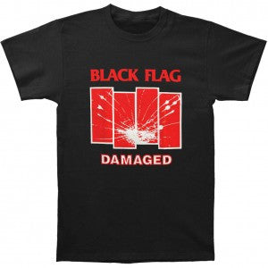 Black Flag Damaged Shirt - Black