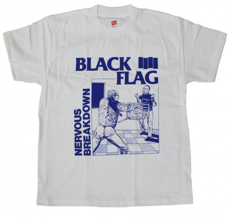 Black Flag Nervous Breakdown Shirt - DeadRockers