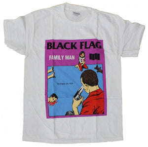 Black Flag Family Man Tee