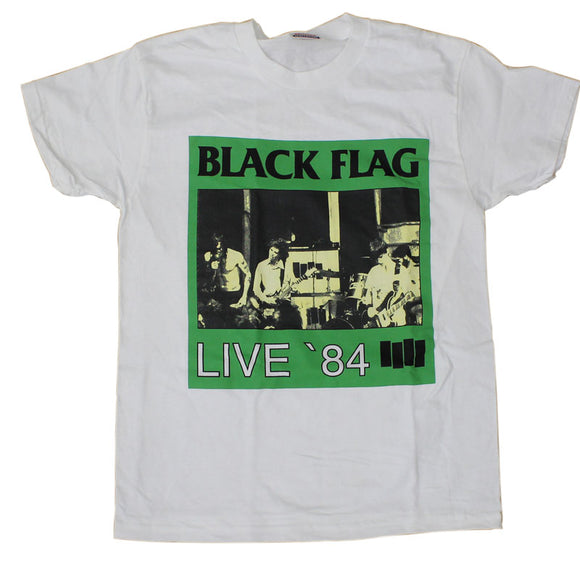 Black Flag - Live '84 Band Shirt