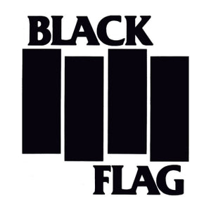Black Flag Bars Sticker