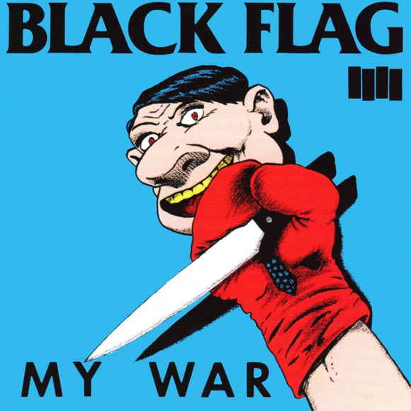 Black Flag My War Sticker
