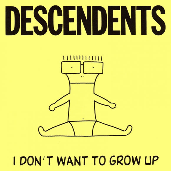 Descendents I Don't Want to Grow Up Sticker