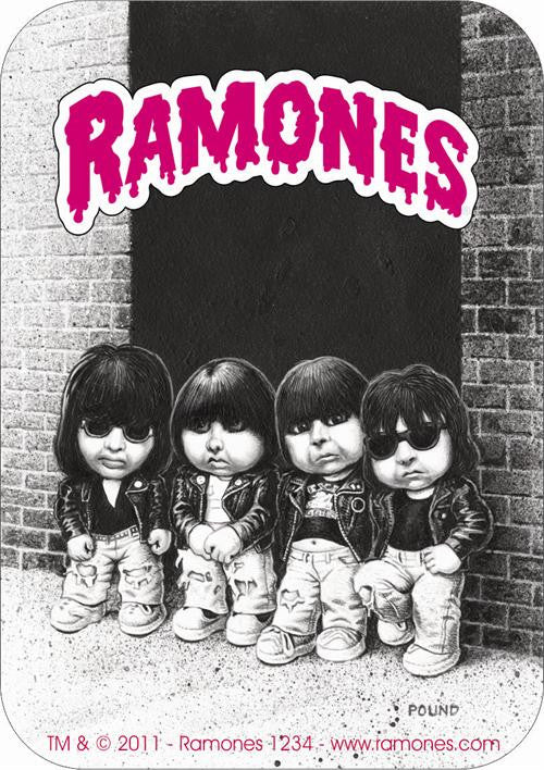 Ramones Garbage Pail Kids Sticker
