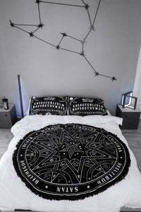 Summoning Round Blanket