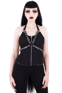 Suzie Studded Harness Top (Only Large left!)