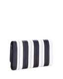 Black & White Striped Bad Reputation Wallet