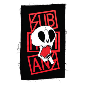 Subhumans Skull Color Back Patch