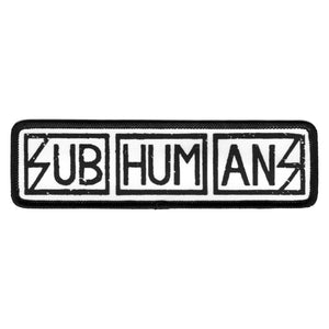 Subhumans Work Shirt Style Patch