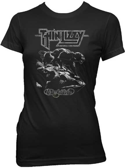 Thin Lizzy Nightlife Fitted Shirt