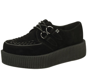Black Viva Suede Mondo Creeper
