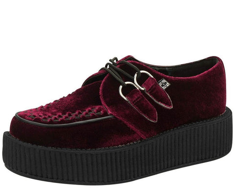 Dark Red Velvet Creeper