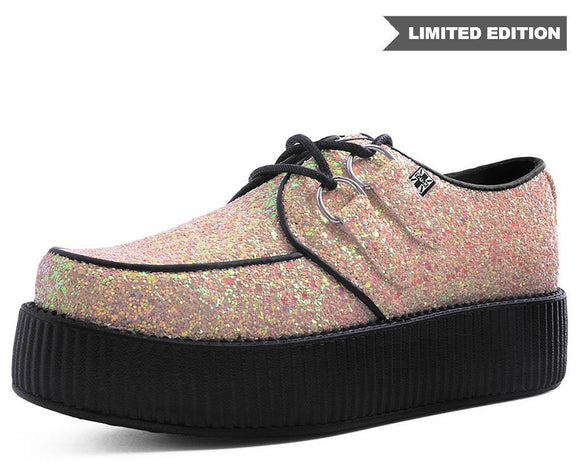 Pink Glitter Creepers