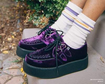 Purple Velvet Viva Mondo Creeper
