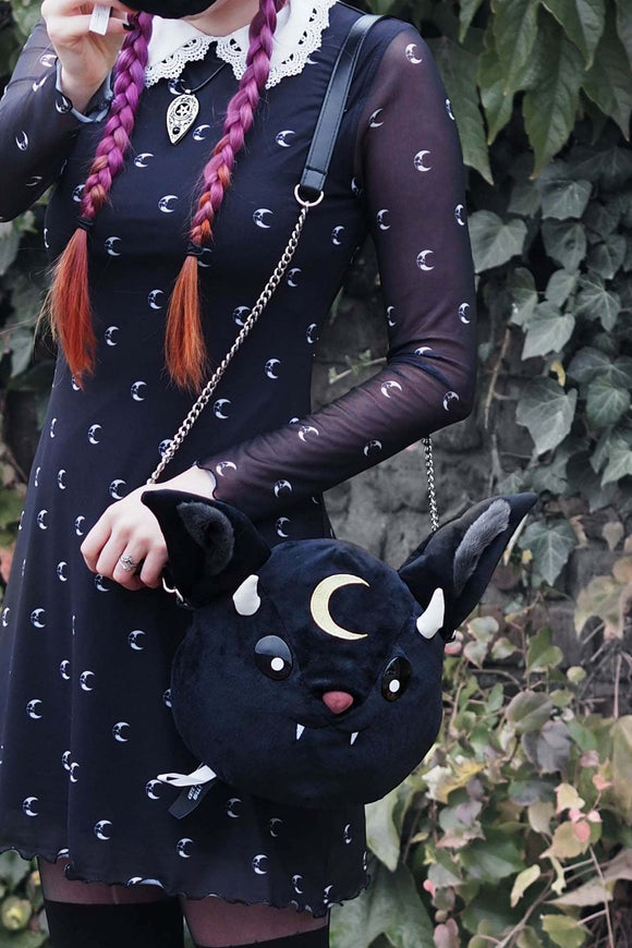 Vampir Bat Plush Handbag