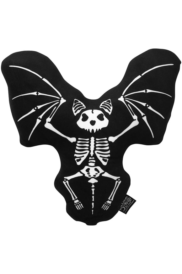 Skeleton Bat Victor Pillow