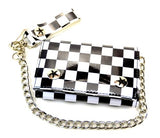 Checkered Chain Wallet