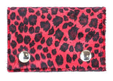 Fuzzy Animal Print Chain Wallet (Various Prints/Colors!)