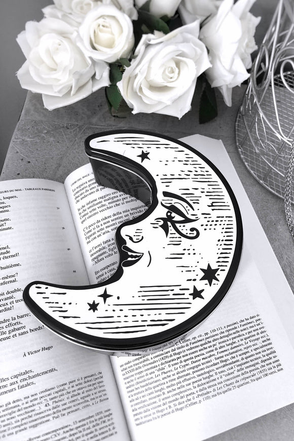 Whimsey Crescent Moon Tin Box