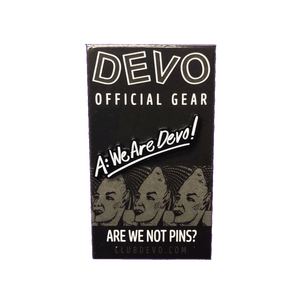 DEVO We Are Devo! Enamel Pin