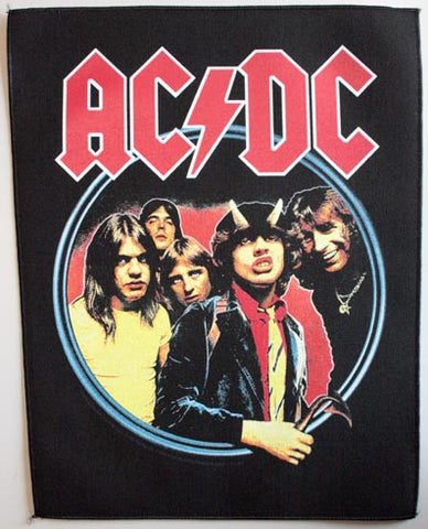 AC/DC Highway Woven Back Patch
