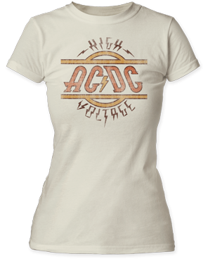 AC/DC High Voltage Tee - DeadRockers