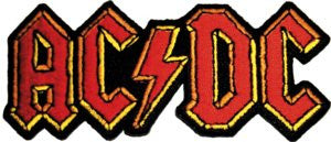 AC/DC Logo Patch - DeadRockers