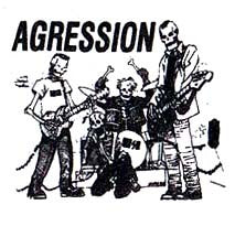 Agression 'Band' Patch - DeadRockers