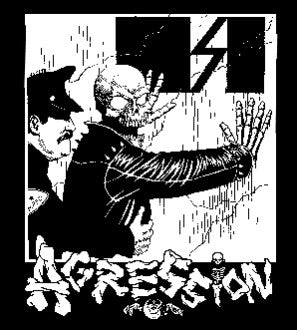 Agression Back Patch - DeadRockers