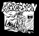 Agression Nardcore Back Patch