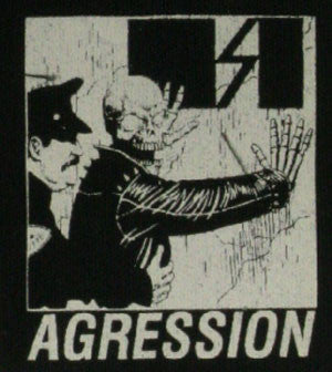 Agression 'Skull' Patch - DeadRockers
