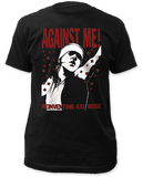 Against Me! Reinventing Axle Rose Band Tee - DeadRockers