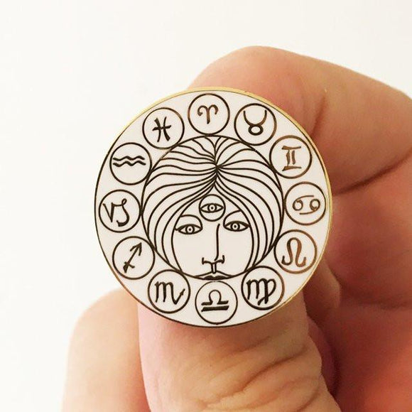 Astrology Enamel Pin
