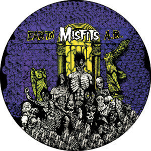 Misfits Earth A.D. Pin - DeadRockers