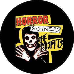 Misfits Horror Business Pin