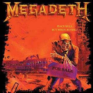 Megadeath Square Pin