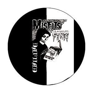 Misfits Evilive Pin - DeadRockers