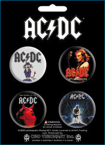 AC/DC Button Pack - DeadRockers
