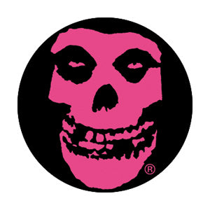 Misfits Pink Crimson Ghost Pin