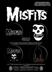 Misfits #3 Button Pack - DeadRockers