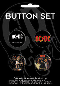 AC/DC #2 Button Pack - DeadRockers
