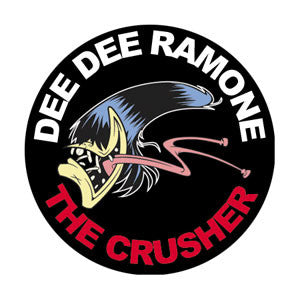 Dee Dee Ramone Crusher Pin - DeadRockers